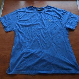 Blue XL Ralph Lauren Short Sleeve Shirt
